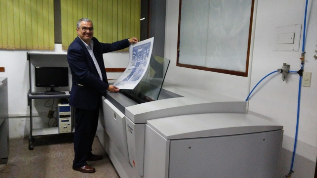 Pre-Press Service News Octubre 2018 CTP Computer to plate
