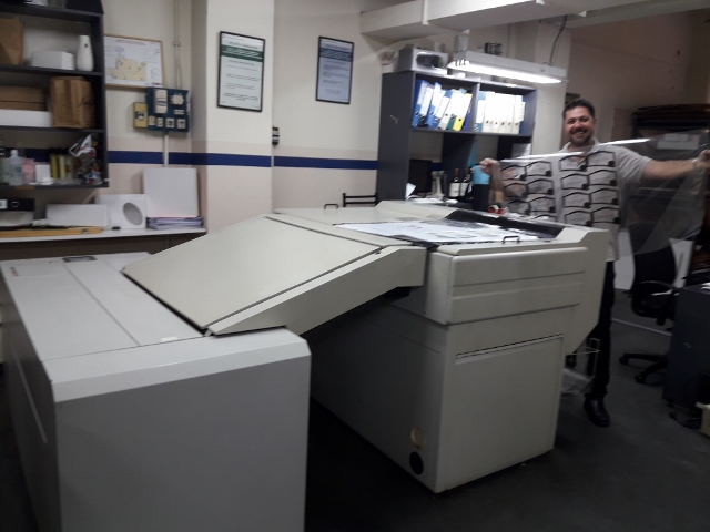 Pre-Press Service News Marzo 2019 CTP Computer to plate