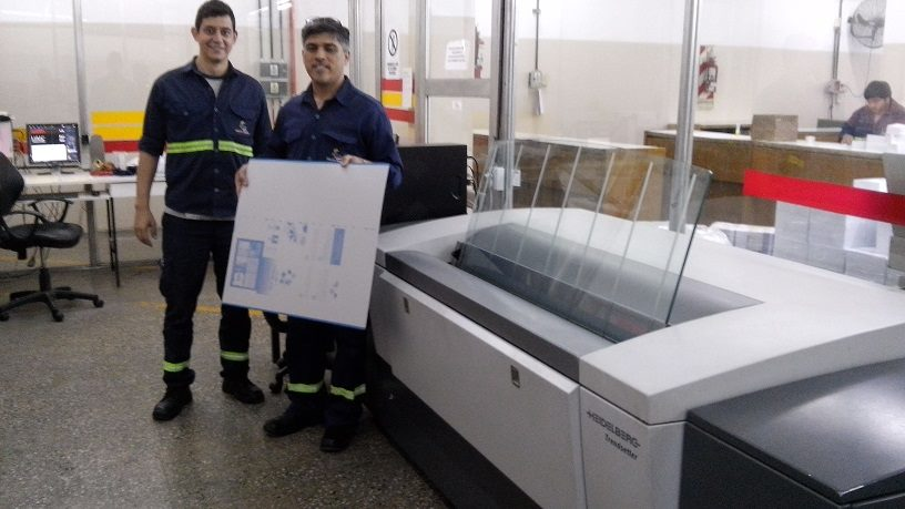 PRE-PRESS SERVICE NEWS-CTP Creo (Kodak) Trendsetter en Chaco - Julio 2015 CTP Computer to plate